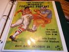 Football 1966 Vintage Sports Programs