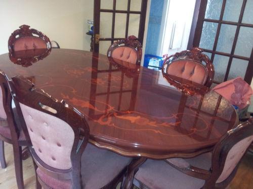 Italian Inlaid Dining Table eBay : 3 from www.ebay.co.uk size 500 x 375 jpeg 28kB