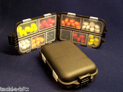 Artificial Pop Up Sweetcorn Imitation bait selection box to use on hair rigs