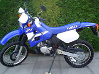 YAMAHA DT 125CC R , 2 STROKE, MOT'D TILL 12 JULY 2017, IN GREAT CONDITION FOR YEAR,READ FULL AD