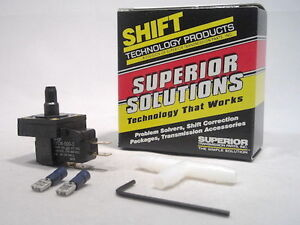 Adjustable Vacuum Switch Kit 700R4 200-4R 350C Trans 6-22