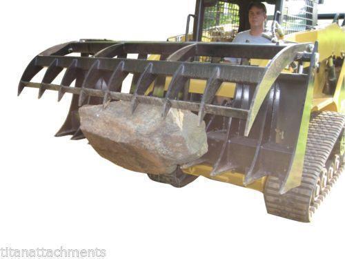 Tractor Loader Boom Middle Steeering : Kubota grapple bucket ebay