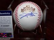 2011 World Series Signed