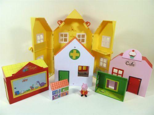 Peppa Pig House Playset Ebay