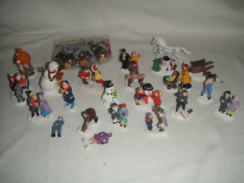 Christmas Village Accessories | eBay