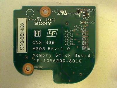 Memory Stick Board - Memory Stick Board CNX-336 Sony PCG-7162M VGN-NS38M