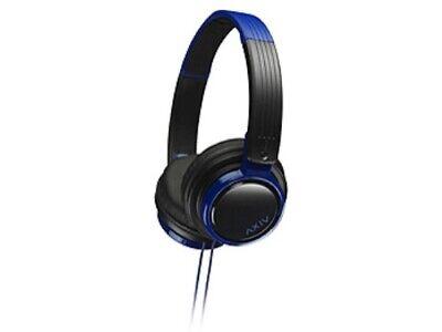 JVC HA-S200-BA Cascos con Cable Auriculares Plegables [Negro / Azul]