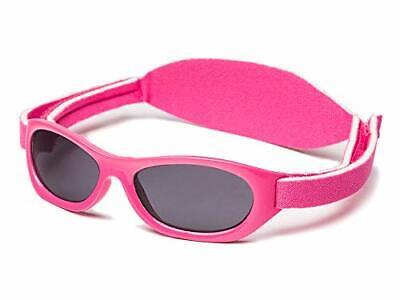 Kiddus Baby-sonnenbrille für JUNGEN UND MÄDCHEN im Alter von (09 Hartes Rosa)