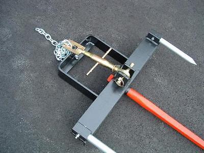 Bucket Hay Bale Spear Attachment W49 Spike - 10102