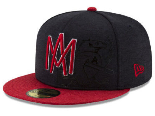 """Dark Navy//Gold New Era 5950 Mexicali Aguilas /""""Campeon/"""" Fitted Hat Men/'s Cap"""