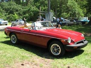 Low-mileage 1979 MGB sports car for sale