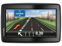 Tomtom slim large screen with accesssories