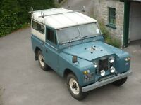 Wanted!! Series landrover 88""