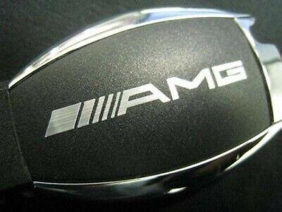 Mercedes AMG schlüssel aufkleber aus alu Logo Emblem Schriftzug.