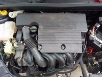 genuine 2002-2009 ford fiesta 1.4 zetec petrol engine + manifold ecu wiring injectors sump sensors