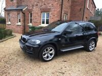BMW X5 2009 59 plate Black Beige Leather memory seats