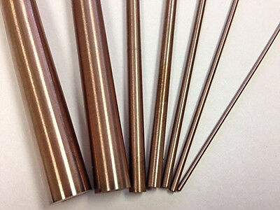 Copper Tungsten Round Rod 532dx12l Rwma Cl 10 W7030 Alloy