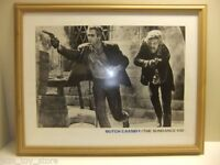 wooden FRAMED PICTURE BUTCH CASSIDY & THE SUNDANCE KID art poster large movie