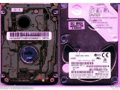 Internal hard drive 80 GB GIG