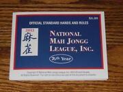 National mAh Jongg League