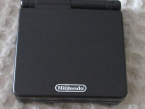gameboy advance sp with game