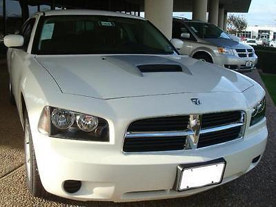 Fits 2006 - 2010 Dodge Charger OE Style Hood Scoop With ABS Plastic Grill
