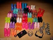 Barbie Doll Shoes Lot
