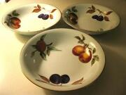 Royal Worcester Soup Bowls