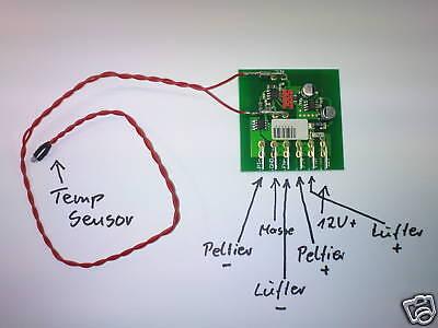 Temperatur Steuerung mit Sensor frei programmierbar