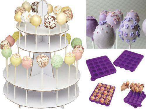 cake pop decorating stand ebay. Black Bedroom Furniture Sets. Home Design Ideas