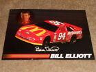Bill Elliott NASCAR Signs