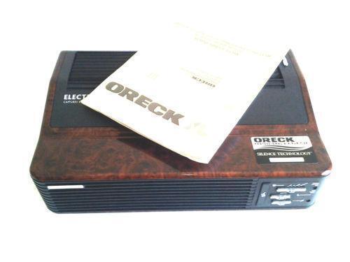 oreck xl air purifier manual
