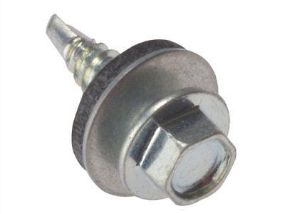 FORGEFIX TSHS5560W Tec Fix Hex Head Roofing Screw Heavy Section Purlins 5.5 x60