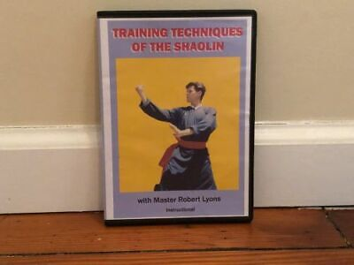 TRAINING TECHNIQUES OF THE SHAOLIN DVD chi kung fu kicks jumps chinese exercises