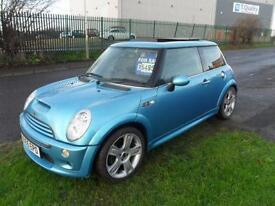 MINI COOPER S CHILLI PACK LEATHER PANO ROOF 55 PLATE 71000 MILES 3 DOOR MANUAL