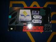 Super Nintendo System Box Only