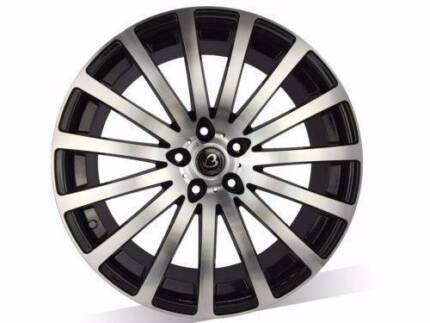 20 inch Brand New Wheels suits COMMODORE, BMW3 $175 EACH WHEEL