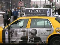 TAXI ADVERTISING - EXCELLENT RATES