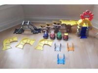 Tonka Chuck & Friends Stunt Park with 4 Motorised Vehicles (Set worth over £100)