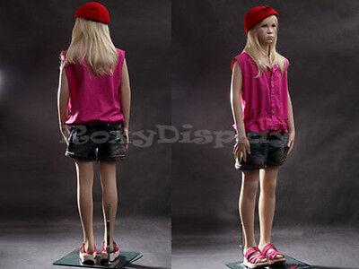 Child Fiberglass Mannequin Dress Form Display Mz-sk02