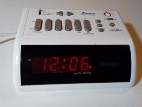 X10 Mini-Timer/Control Center & Alarm Clock MT10A (PHT02) ~ Used ~ Tested