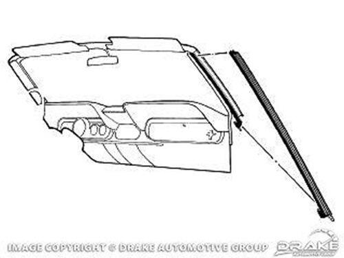1964-1968 ford mustang - convertible pillar seal