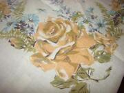 Large Vintage Tablecloth