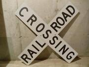 Vintage Railroad Sign