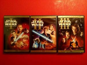 STAR WARS EPISODES 1, 2, 3