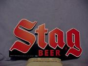 Stag Beer Sign