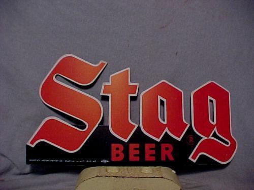 Stag Beer Sign Ebay