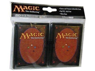 160 ULTRA PRO MAGIC CARD BACK DECK PROTECTORS SLEEVES MTG Standard Art 2 Packs