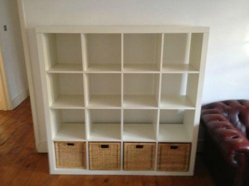 ikea expedit shelving units ebay. Black Bedroom Furniture Sets. Home Design Ideas