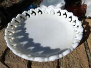 Milk Glass Dessert Plates